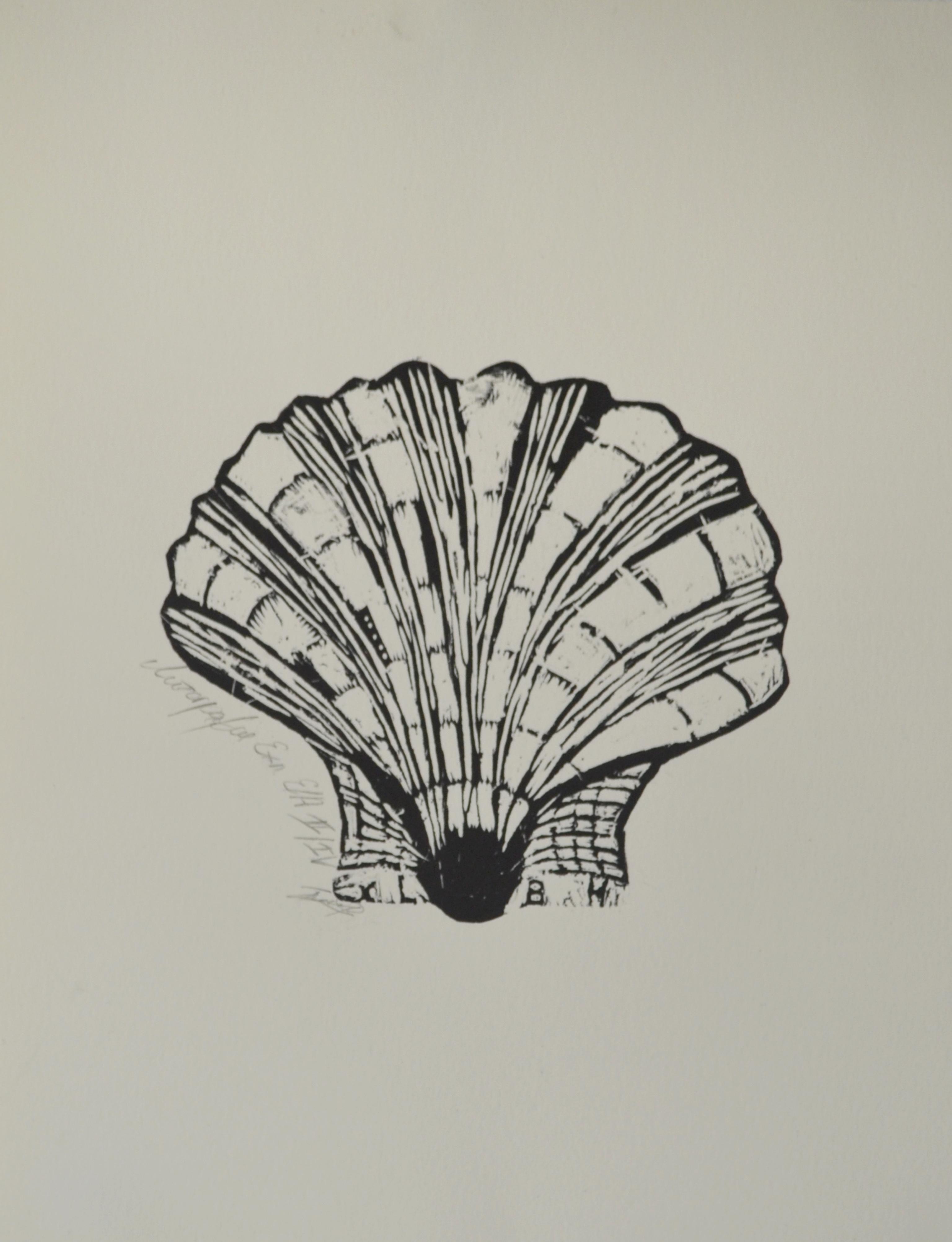 "Борислава Каракашева, специалност ""Изобразително изкуство"", Мида, 2018 /  Borislava Karakasheva, degree programme ""Fine Arts"", Sea Shell, 2018"