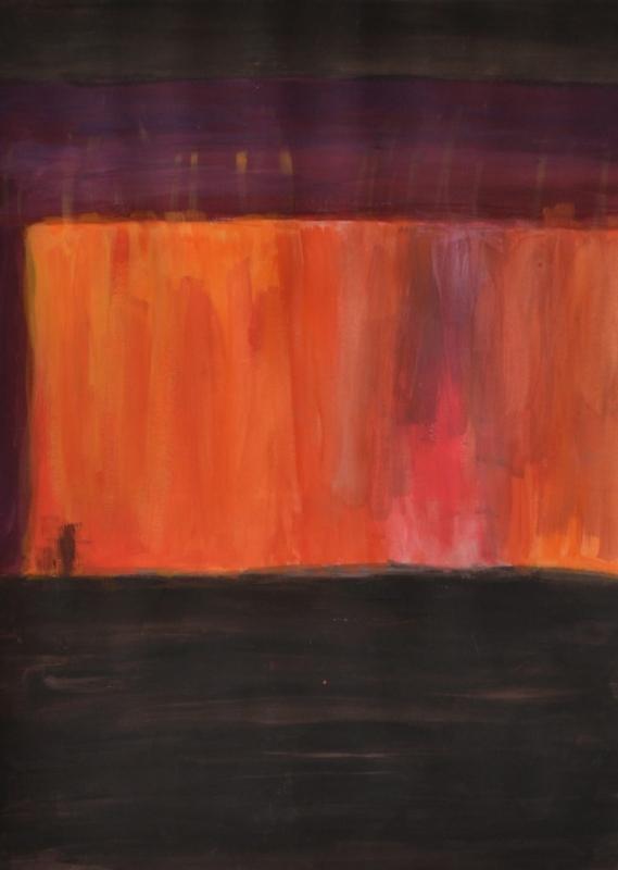 """Стела Маркова, специалност """"Графичен дизайн"""", Залез, 2018  / Stella Markova, degree programme """"Graphic Design"""", Sunset, 2018"""