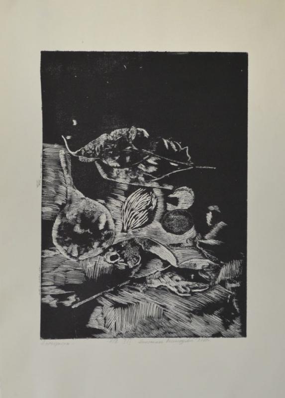 """Николинка Александрова, специалност """"Изобразително изкуство"""", Натюрморт II, 2018 / Nikolinka Aleksandrova, degree programme """"Fine Arts"""", Still Life II, 2018"""