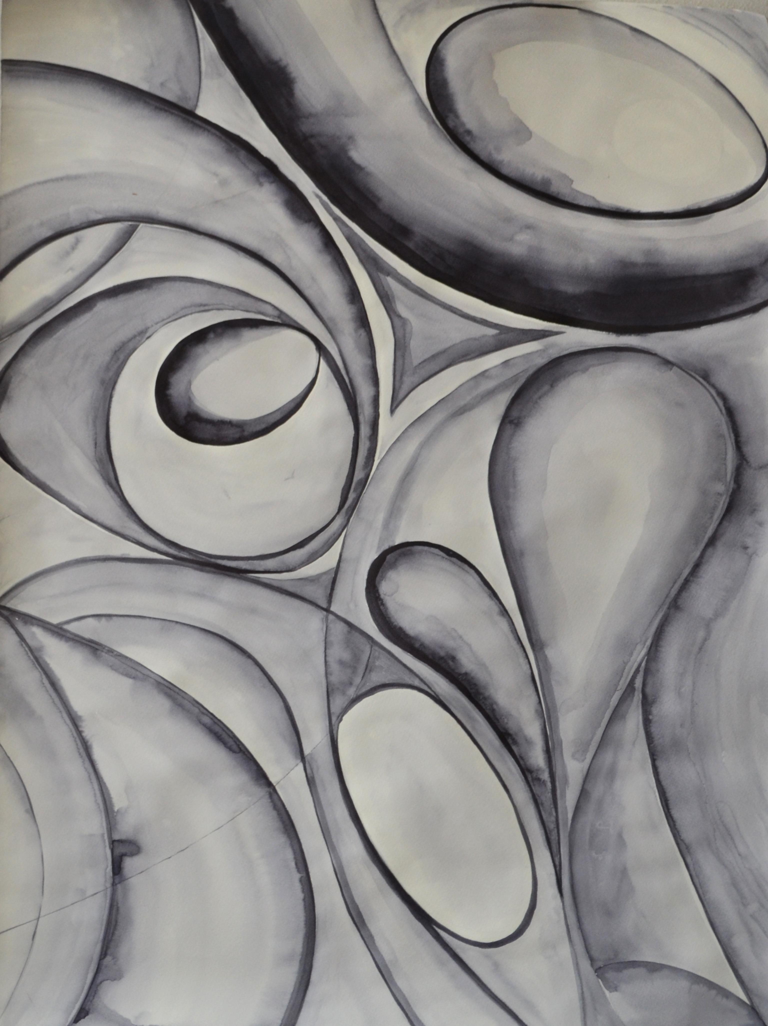"""Боряна Писарова, специалност """"Изобразително изкуство"""", Абстрактна композиция II, 2019 / Boryana Pisarova, degree programme """"Fine Arts"""", Abstract Composition, II, 2019"""