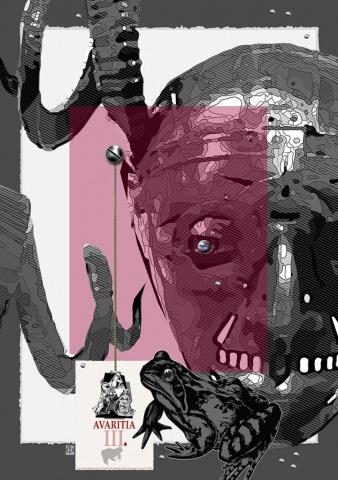 Буян Филчев, 7-те смъртни гряха – Завист,  2018 /Bouyan Filchev, The Seven Deadly Sins,  – Greed, 2018