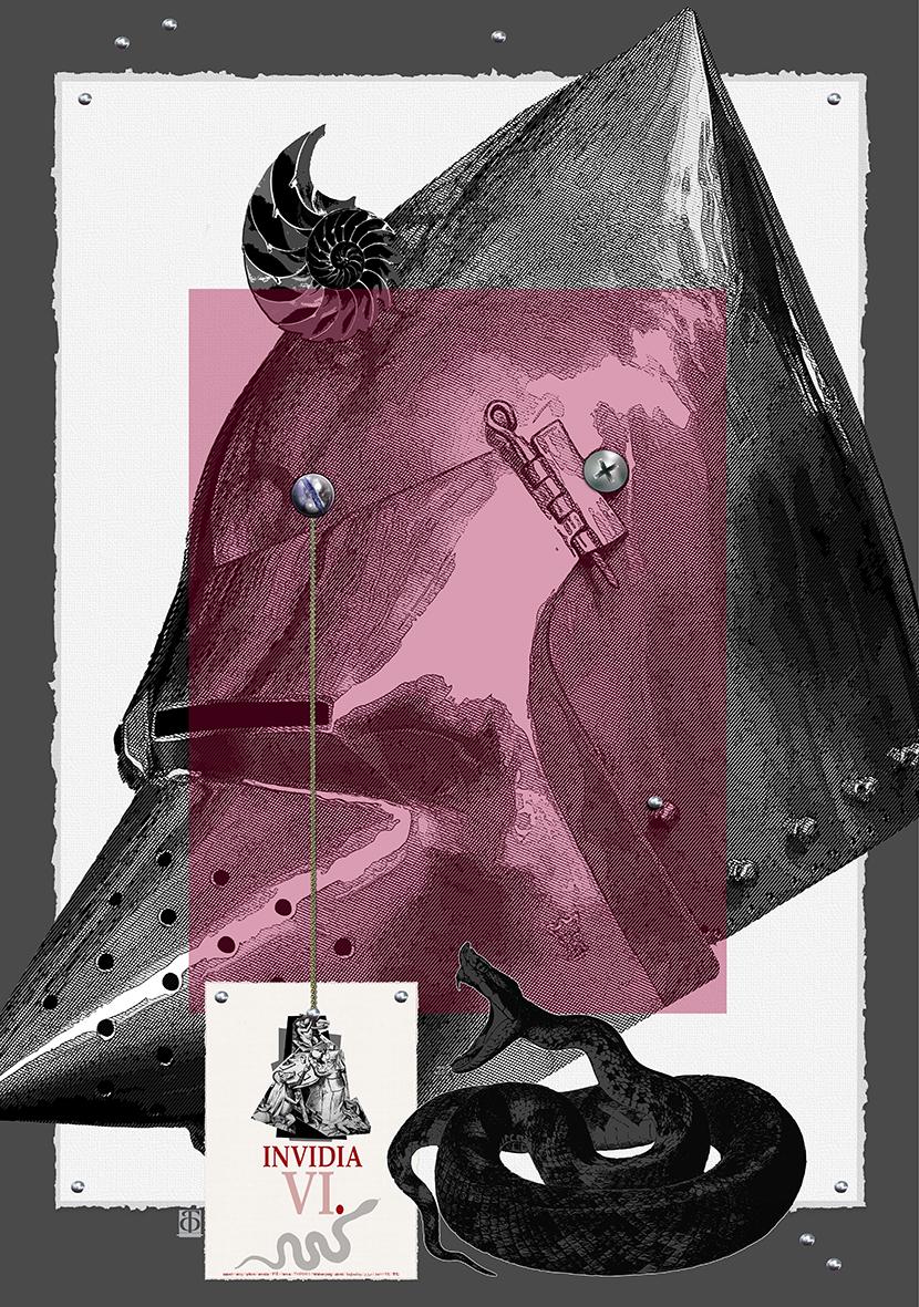 Буян Филчев, 7-те смъртни гряха – Завист,  2018 /Bouyan Filchev, The Seven Deadly Sins,  – Envy, 2018
