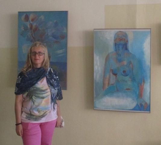 Самостоятелна изложба на Анна Икономова, 2019 / Individual exhibition of Anna Ikonomova, 2019